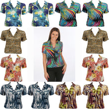 12 Pack<br>Magic Crush Georgette<br>Short Sleeve w/ Collar