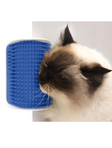 Cat Self-Grooming Brush - SAVE 40% + FREE Catnip