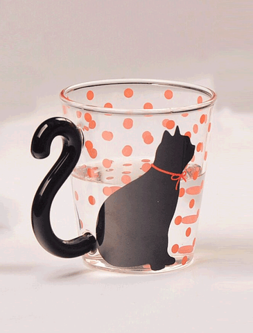 Cute Cat Tail Glass Mug - SAVE 50% TODAY