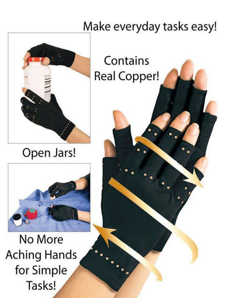 Copper Compression Therapy Hand Gloves® - SAVE 30% TODAY