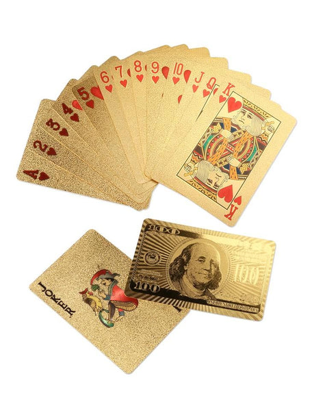 24K Gold Playing Cards®- SAVE 50% TODAY