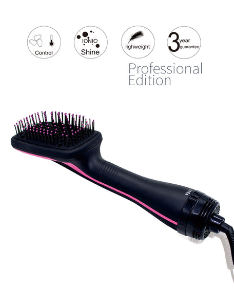 2-in-1 Professional Dryer & Styler Brush - SAVE 70% TODAY