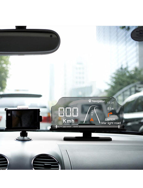Smartphone Driver Heads Up Display - FREE SHIPPING