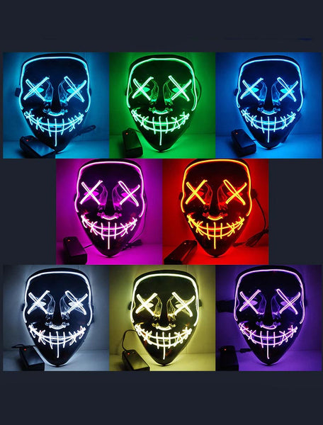 LED Halloween Mask - SAVE 50% TODAY