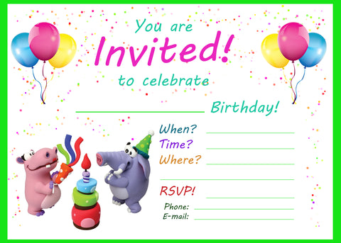 Fine Birthday Party Invitations Jumping Clay Scarborough Funny Birthday Cards Online Elaedamsfinfo