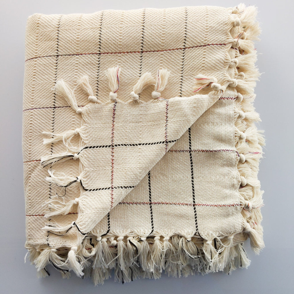 Betty Artisan Handloom Turkish Cotton Blanket