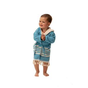 SIA BLUE KIDS' ROBE
