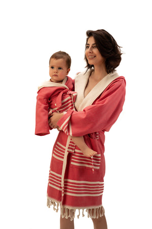 SIA RED KIDS ROBE