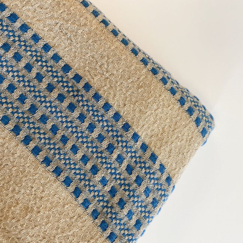 Farida | Linen and Turkish Cotton Throw Blanket