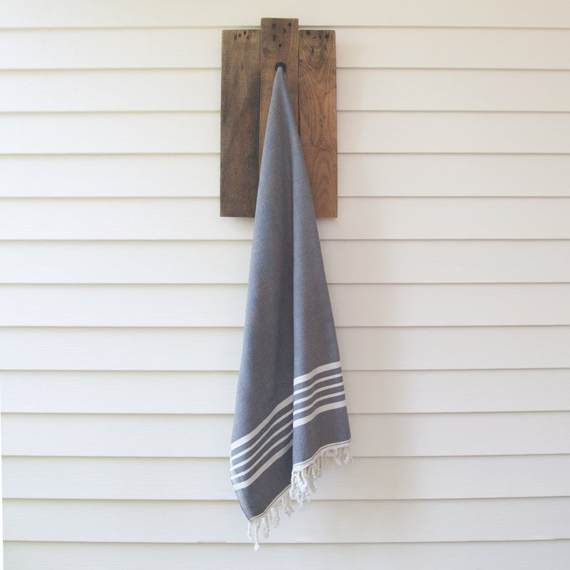 Sia Gray Turkish Towel