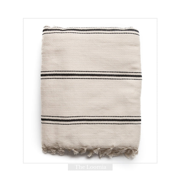 Sophie | Turkish Cotton Boho Throw Blanket