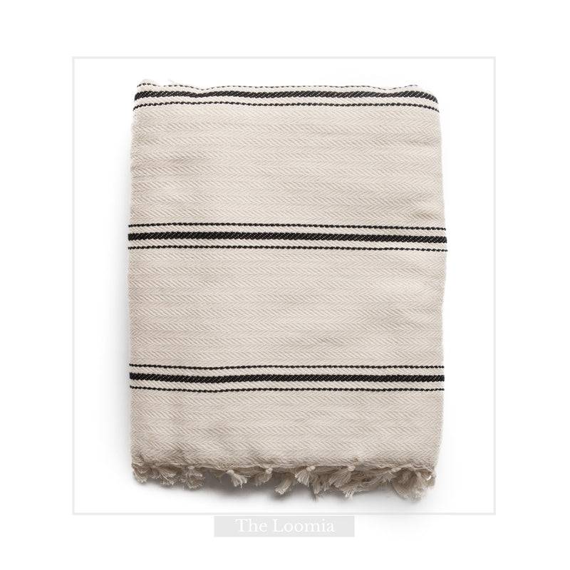 Sophie | Boho Turkish Cotton Throw Blanket