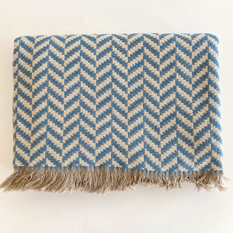 AMCA 100% TURKISH COTTON THROW BLANKET