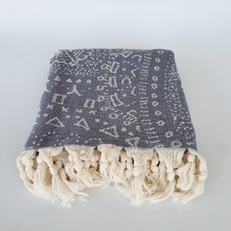 Janya Ethnic Patterned Turkish Towel