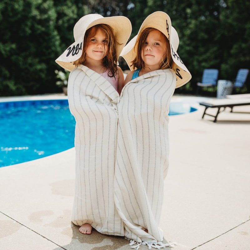 Deniz | Bamboo Cotton Turkish Bath Towel