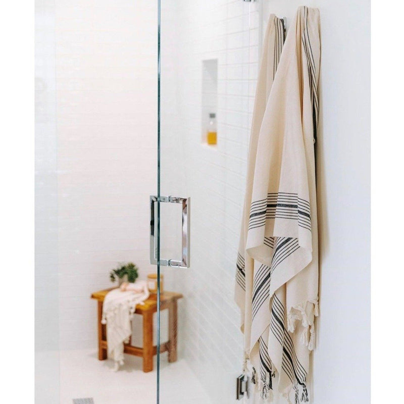 The Zebrine No:2 Turkish Towel