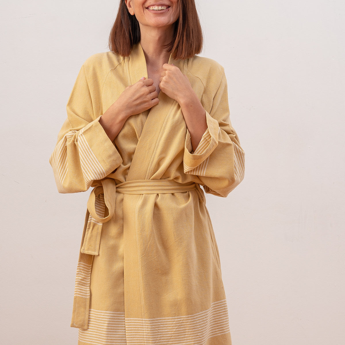 Upma Unisex Cotton Bathrobe
