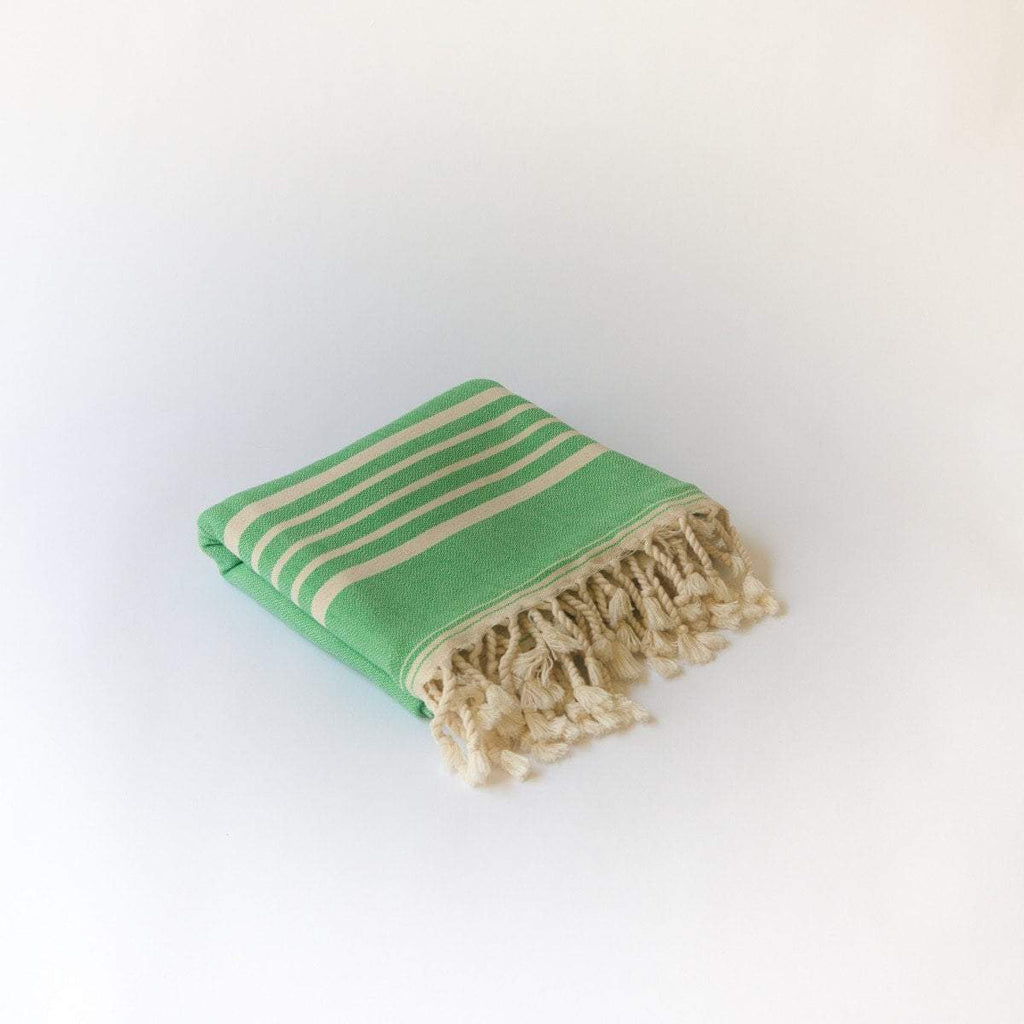 SIA Green Turkish Towel