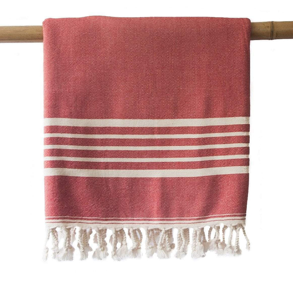 SIA Red Turkish Towel