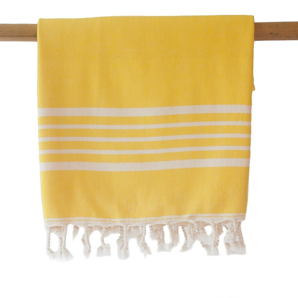 SIA Yellow Turkish Towel