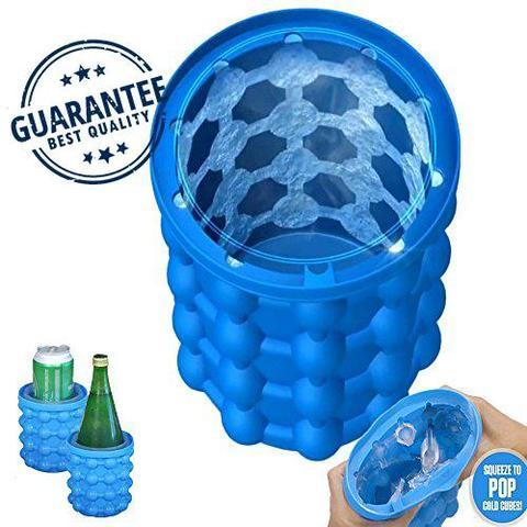The Revolutionary Space Saving Ice Cube Maker ice genie