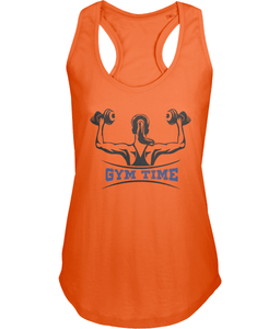 Ladies Fitness Gym Tank Top 100% Cotton