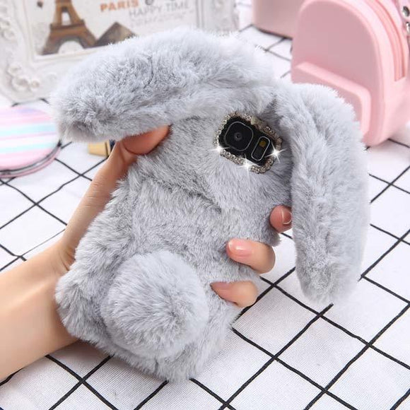 Soft Bunny Fluffy Phone Case