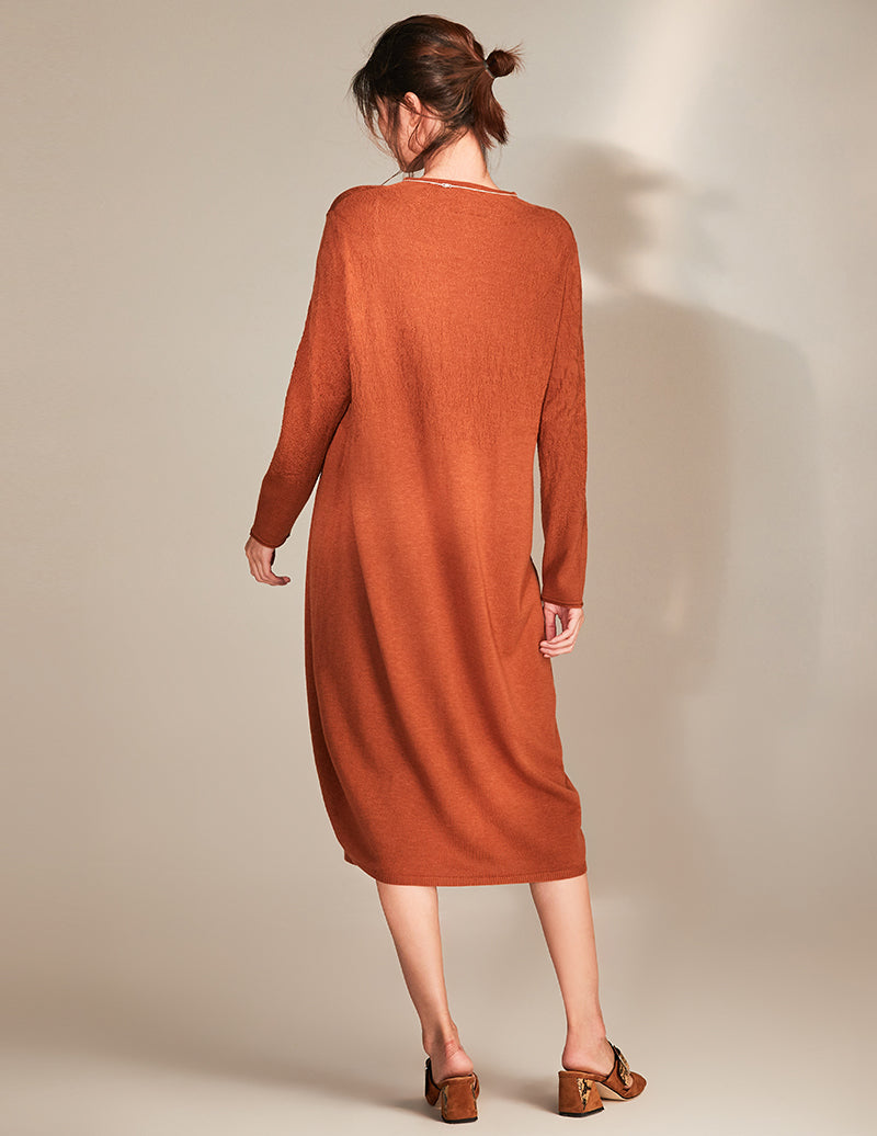 A-line Pullover Long Dress