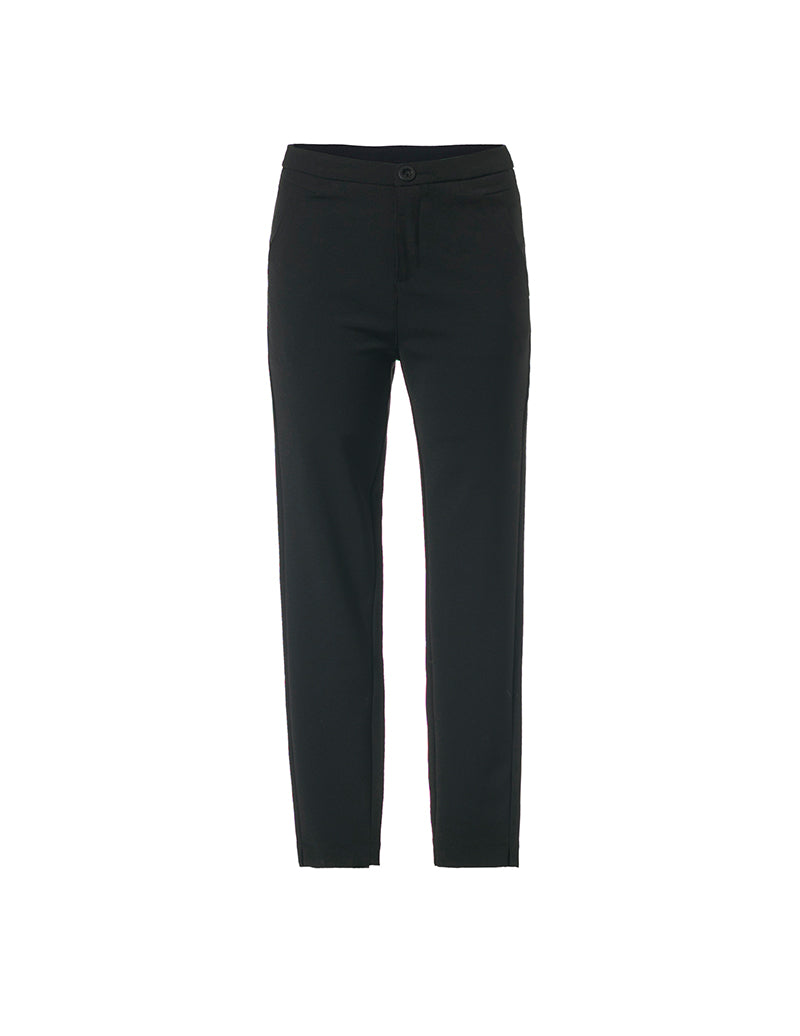 Black Cotton Legging