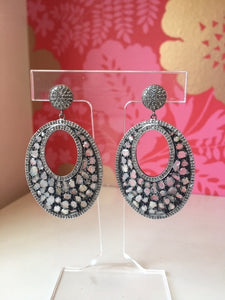 Sliced Diamond Earrings