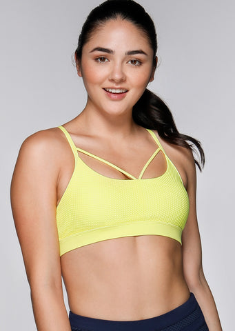 Go For Gold Sports Bra