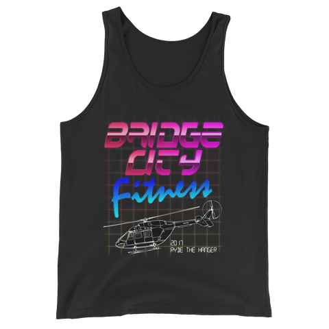 STARS 2017 Ryde the Hangar Unisex Tank Top