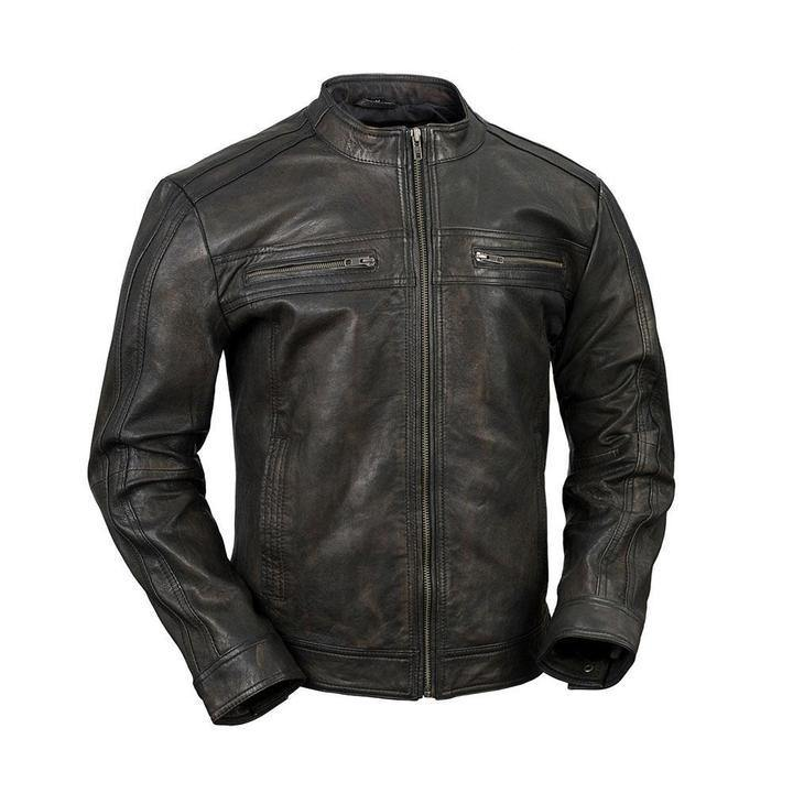 2103  Men's Leather Jacket