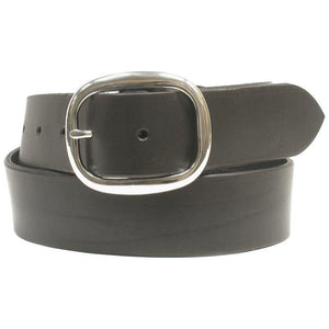 "1 1/4"" Leather Belt Black"
