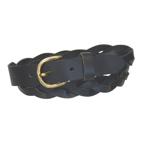 Ladies' 3 Braid Belt Navy