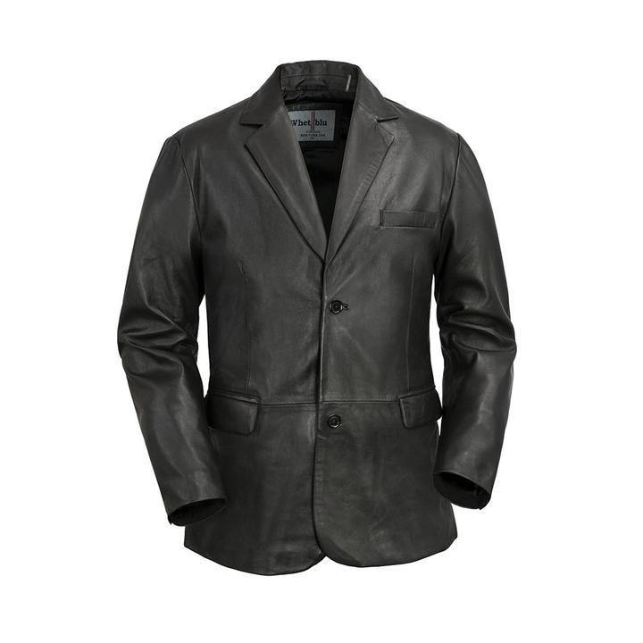 Men's 2 Button Blazer Black