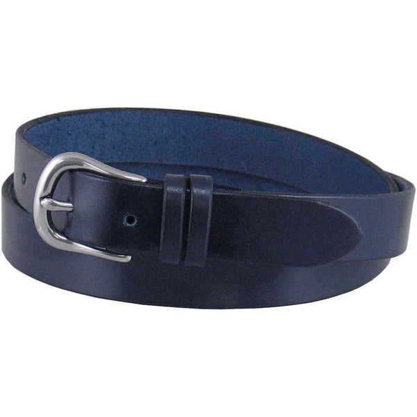 #D17 Dress Belt in Navy