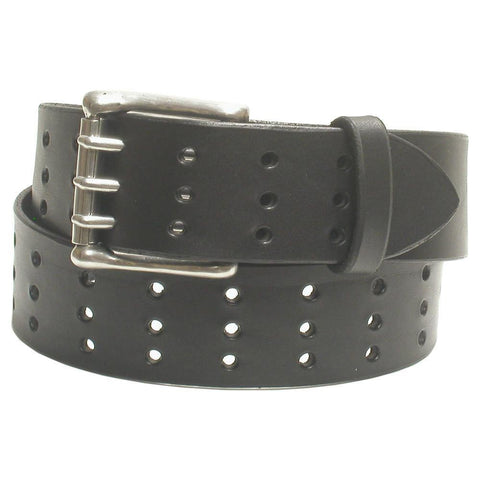 A75 Triple Hole Jean Belt Black