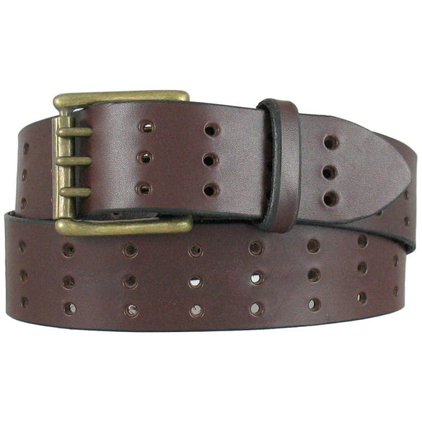 A75 Triple Hole Jean Belt Chocolate