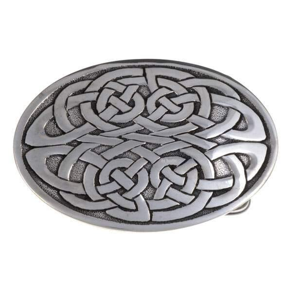 Kells Knot Pewter Belt Buckle