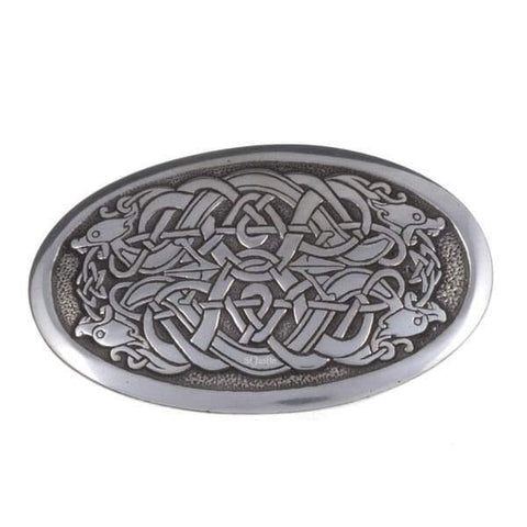 Serpent Pewter Belt Buckle