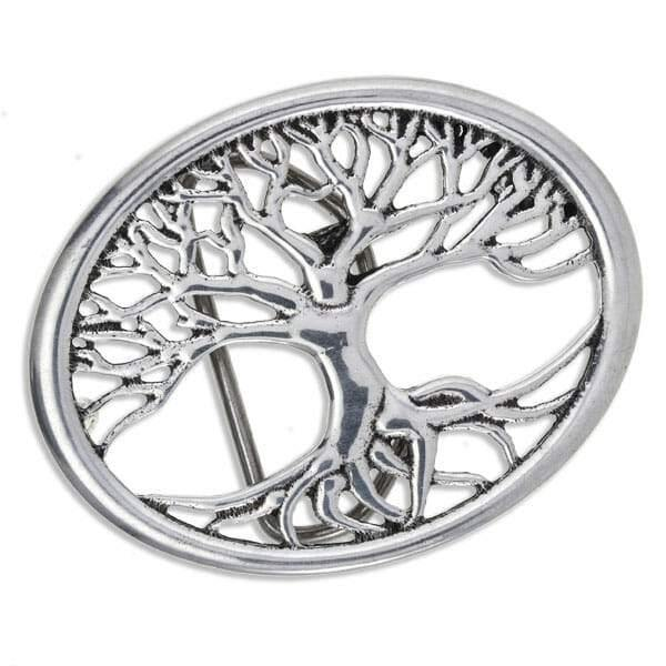 Tree of Life Belt Buckle