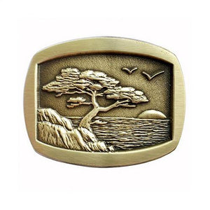 Monterey Sunset Belt Buckle