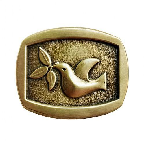 Peace Dove Belt Buckle