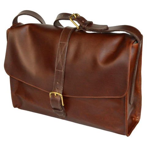 Messenger Satchel - Copper Brown