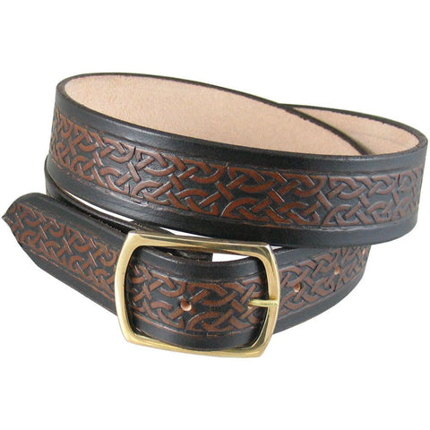 Celtic Belt  Antique Walnut