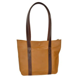 Small Strap Tote - Medium Tan