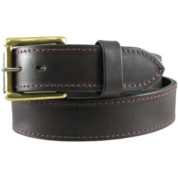 "Heavy Duty Work Belt 1 1/2"" Wide Brown"