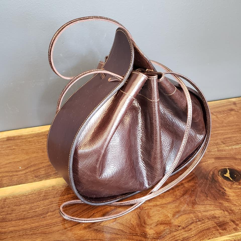 Ashley Drawstring Bag Brown/Chocolate