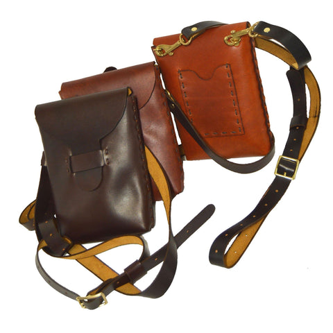 Logan Leather Belt Bag - Various Colors